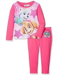 Paw Patrol女孩 Everest and Skye 图纹睡衣套装