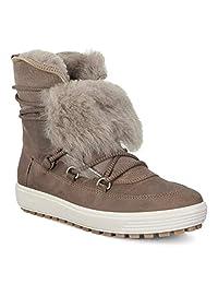 ECCO 女士 Soft 7 Tred 中帮运动鞋