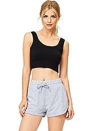 Ambiance 女式青少年完美慢跑运动短裤