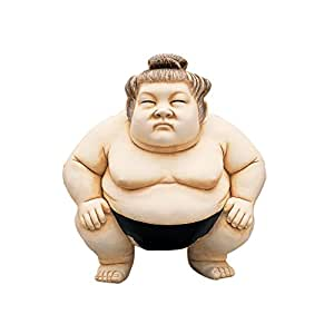 Design Toscano Basho the Sumo Wrestler Statue - Medium 米黄色 大