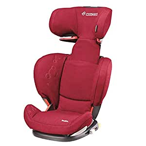 Maxi-Cosi 迈可适 RodiFix罗迪斯ISOFIX儿童汽车安全座椅(深红色)(适合3-12岁或15-36kg)(葡萄牙原产,适用ISOFIX接口)