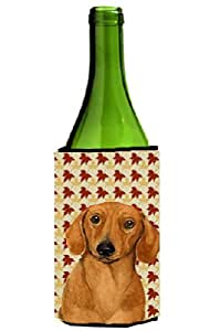 Dachshund Fall Leaves Portrait Michelob Ultra Koozies for slim cans LH9087MUK 多色 750 ml