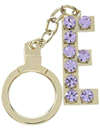 kate spade new york Key Fobs Jeweled E Initial