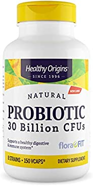 Healthy Origins 素食胶囊,300亿个CFU货架稳定的益生元,150粒