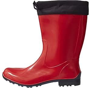 Lemigo Sara 橡胶靴雨靴 40 红色 4250744429223