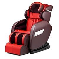 ACK-M21零重力太空舱豪华按摩椅家用全身多功能音乐电动沙发椅 (富贵红)