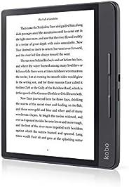 Rakuten Kobo Forma – 电子书阅读器(20.3 厘米(8 英寸),E 墨水卡,1440 x 1920 像素,3:4,CBR,CBZ,HTML,移动,PDF,RTF,TXT,ePub,BMP,GIF,JP