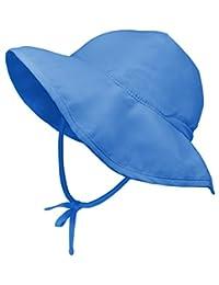男孩和女孩儿童太阳帽 - 幼儿沙滩渔夫帽,防紫外线防护 - UPF 50+ 宽边婴儿和婴儿泳帽 - 可折叠游猎帽 - 非常适合夏季、钓鱼、旅行、泳池和户外玩耍