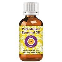 Deve Herbes Pure Melissa 精油 (Melissa officinalis) * 天然*级蒸汽蒸馏 30ml