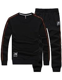 Aboselon 艾伯森朗 男士圆领卫衣运动套装 运动休闲长袖长裤卫衣春装 AYB916