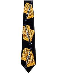 Mens Musical Wind Instrument Neck Tie