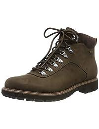 Clarks 男士 BatcombeAlpGTX 机车靴