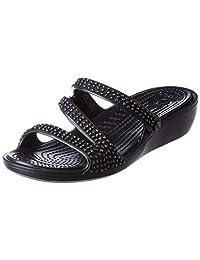 Crocs Patricia Diamante 女士凉拖鞋