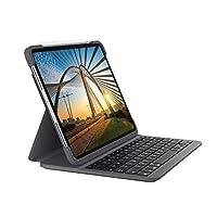 Logitech 罗技 SLIM FOLIO PRO 带背光,蓝牙键盘保护套,适用于 iPad Pro 12.9英寸(3代和4代)