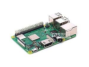 新款 树莓派3代B+型 Raspberry Pi 3 Model B+ 四核BCM2837B0 蓝牙4.2 高速WIFI