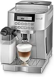 De'Longhi 德龙 Magnifica S 卡布奇诺 ECAM 22.366.S 全自动咖啡机(数字显示屏,集成牛奶系统,一键式制备卡布奇诺,可拆卸冲泡组,两杯功能