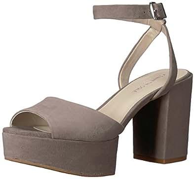 Kenneth Cole New York 女士 Pheonix 防水台礼服凉鞋 大象灰 6 M US