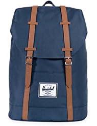 中国亚马逊:Herschel RETREAT BACKPACK 双肩包 海军蓝 (尺寸:14 *41.9 *30.5 cm)(加拿大品牌 香港直邮)(包邮包税),现价:¥389