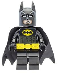 LEGO Batman Movie Batman Kids Minifigure Alarm Clock | black/yelow | plastic | 9.5 inches tall | LCD display | boy girl | official