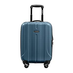 Samsonite 新秀丽 FLOREN系列 可扩展耐磨万向轮四轮拉杆箱 登机箱 BQ1*51001 灰蓝色 20寸