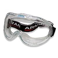 ARAN SAFETY 防雾批准宽视野实验室*护目镜,经 ANSI Z87.1 批准