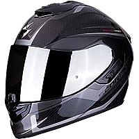 Scorpion 摩托车头盔 EXO-1400 AIR CARBON ESPRIT M 黑色 14-276-58-04