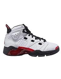 Jordan 男童 小童 6-17-23 (PS) 428819-100 白色/健身房红-黑色