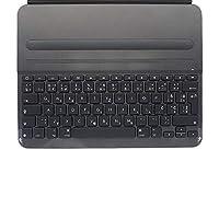 Logitech 罗技 Slim Folio Pro iPad 保护套,带无线蓝牙键盘,iPad Pro 12.9英寸(约32.77厘米),三代型号:A1876,A1895,A1983,A2014,背光键,14个iOS快捷键,QWERTY UK布局-黑色