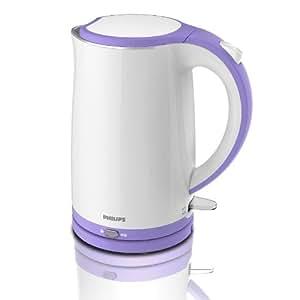 PHILIPS 飞利浦 电热水壶 烧水壶 HD9313/21 紫色(1.7L容积/ 双层壶体设计/食品级不锈钢壶体及内胆)
