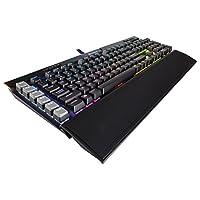 Corsair海盗船 Gaming K95 RGB 铂金机械键盘 樱桃 MX茶轴 黑色(CH-9127012-NA) 黑色 Cherry MX Brown