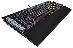 CORSAIR 海盗船 K95 RGB 铂金版 机械游戏键盘 - Cherry MX 茶轴 绝地求生吃鸡键盘 (幻彩背光 USB连接 多媒体控制 全键防冲突)