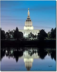 Latter-day Strengths Idaho 秋天,Idaho Charming Sunset Dawn 8x10