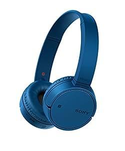 Sony 索尼 无线蓝牙耳机(电池寿命可达 20 小时,免提通话功能,NFC,可旋转设计)WHCH500L.CE7
