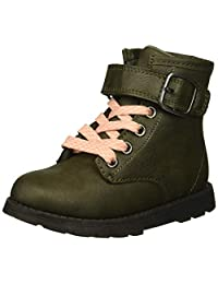 Carter's 女童 Cory2 橄榄色战斗靴