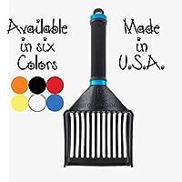 SUREscooper (新改良)重型猫砂勺 - 猫砂勺适用于多或大猫 - 比金属猫勺更结实 - 适用于所有类型的猫砂 蓝色 大