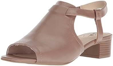 LifeStride Mona 女士高跟凉鞋 蘑菇色 6 M US