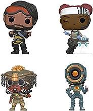Funko 游戏:POP! Apex Legends 收藏者套装 - Mirage Lifeline 系列,Bloodhoundd, Pathfinder