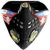 RESPRO 英国进口 呼吸阀骑行口罩 N95跑步运动口罩防尘面罩