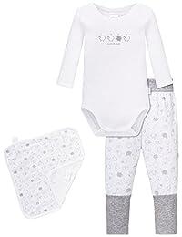SCHIESSER 婴儿男孩中性款内衣套装,3对装