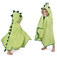 英国Cuddledry有机幼棉童浴巾-小龙CRR01