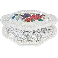 ANNA SUI LIMITED EDITION 化妆调色板4白色花卉设计,71G