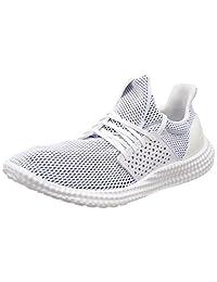 adidas Women's Athletics 24/7 Training Shoes, White (Footwear White/Trace Pink Footwear White/Trace Pink), 4.5 UK