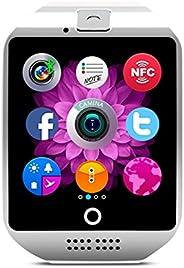 COLOFAN C02 男女蓝牙智能手表可插手机卡、手机、相机运动手表计步器(白色)