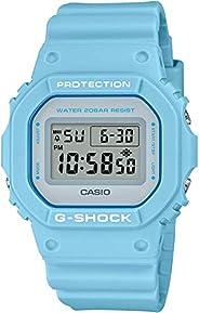 CASIO卡西欧 腕表 G-SHOCK 蓝色 43mm 树脂 DW5600SC-2 男士
