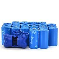 *佳宠物用品 - 设计师厚垃圾桶袋附赠盒 - 360 个袋 蓝色