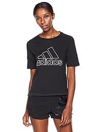 adidas 阿迪达斯 女式 运动型格 短袖T恤 GFX SS T ID