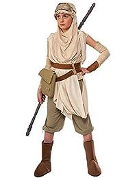Star Wars VII: The Force Awakens Child's Premium Rey Costume, Medium