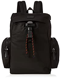 HUGO Capital_backpack,男士单肩包,黑色,16x43x27 厘米 (B x 高 T)