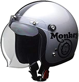 本田 猴子头盔 银色/黑色 M(57-58厘米以下) 0SHGC-JC1C-SM