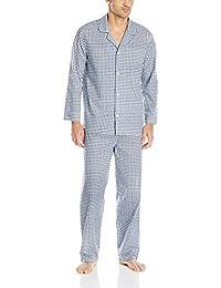 Fruit of the Loom Men's Plaid Broadcloth Pajama